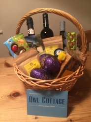 <h5>Easter 2018</h5><p>Our welcome basket- for our guests to help them get in the spirit of Easter</p>