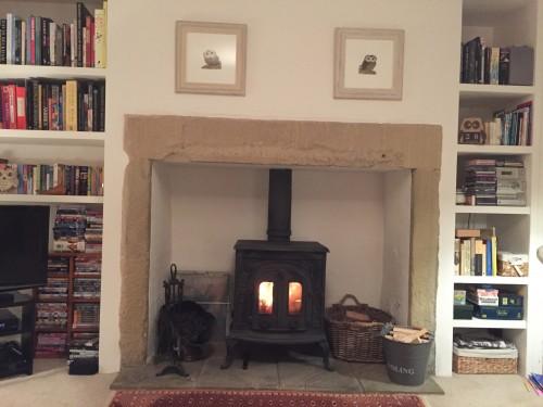 Raining & grey outdoors-roasty, toasty indoors!
